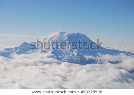 雲 表示 珍しい 雲 山 ストックフォト © craig