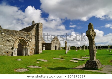 Clonmacnoise abbey, Ireland Stock photo © borisb17
