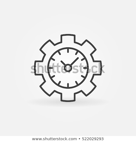 increased efficiency icon vector outline illustration Stock photo © pikepicture