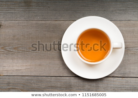 Cup of Tea from Above Stock photo © frannyanne