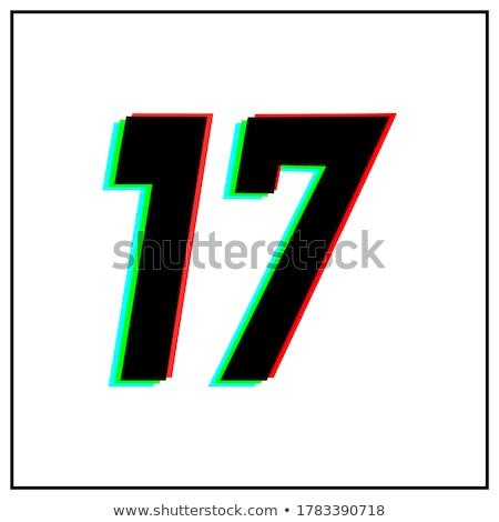 Résumé bleu noir vert 17 Photo stock © cidepix