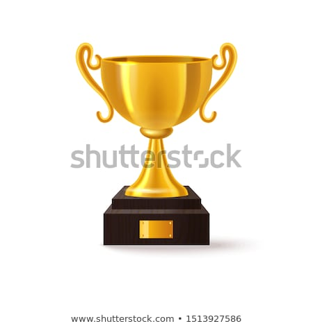 Champion cup - goblet golden Stock photo © Hermione