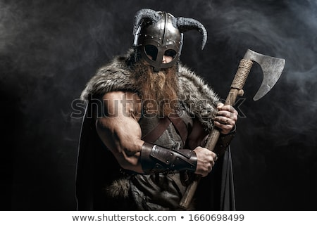 древних воин статуя ворот лице человека Сток-фото © gant