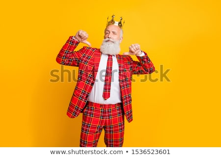 Arrogant man wearing suit Stock photo © photography33