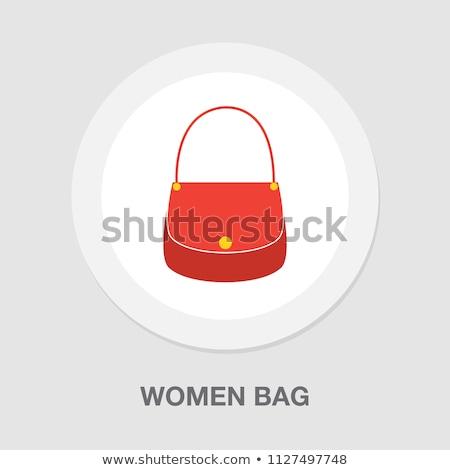 compras · mulher · sacos · menina · mão · feliz - foto stock © leonido