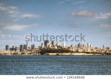 Photo stock: Centre-ville · San · Francisco · midi · plage · eau