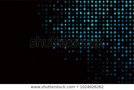 luxe · or · poker · carte · symboles · exclusif - photo stock © carodi