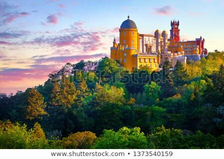 дворец · Лиссабон · Португалия · небе · здании · строительство - Сток-фото © serpla