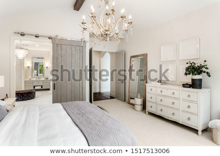 Stock photo: Spacious master bedroom