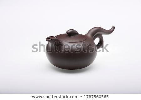 Chinese Teapot stock photo © kitch