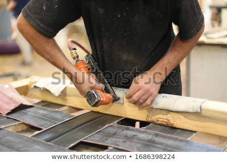 Woman with upholstery tools Stock photo © photography33