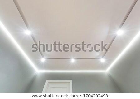 Stockfoto: Halogeen · lamp · oude · standaard · lamp · glas