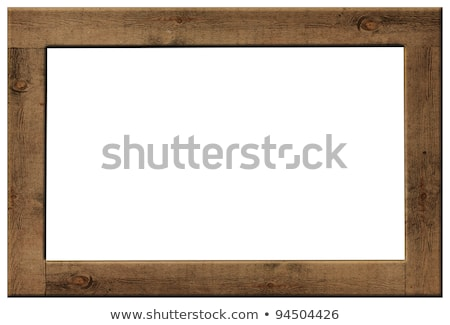 Ancient Gold wood frame Stock photo © nuttakit
