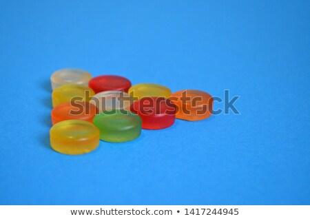 Triangle made of jelly candies  Stock photo © Taigi