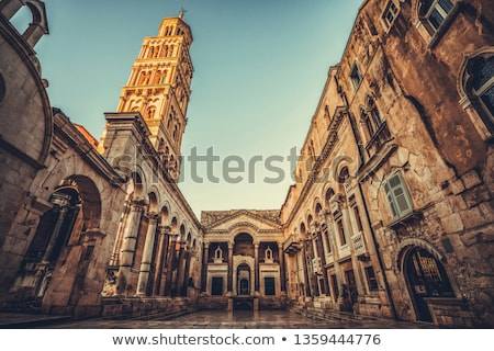 Bell Tower in Split Old Town Stock photo © rognar