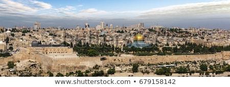 Jeruzalem · tempel · westerse · muur · gouden - stockfoto © eldadcarin