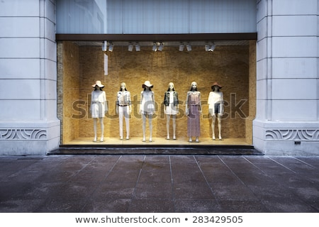 Window of the clothes shop. Stock photo © kyolshin