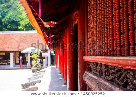 храма · подробность · Вьетнам · дизайна · цвета - Сток-фото © travelphotography