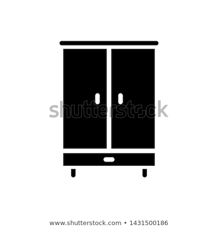 Icon cupboard Stock photo © zzve