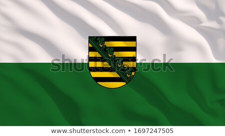 Flag Saxony-Anhalt Stock photo © Ustofre9