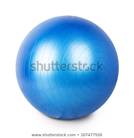 Green exercise ball stock photo © snyfer
