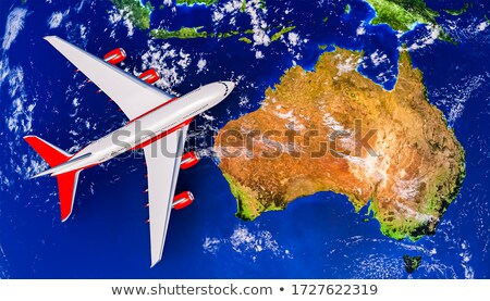 Австралия Океания земле мира модель карт Сток-фото © ixstudio