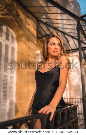elegant · gândire · modă · femeie · bijuterii - imagine de stoc © lunamarina
