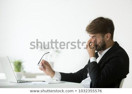 Work pressure. Stock photo © szefei