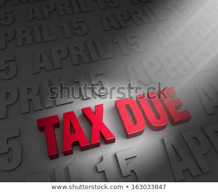 Spotlight on Tax Due Date Stock photo © 3mc