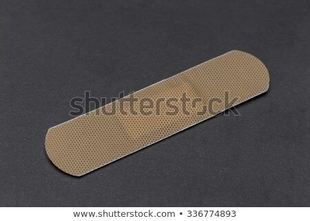 Doek zelfklevend eerste hulp geneeskunde plastic apotheek Stockfoto © smuay