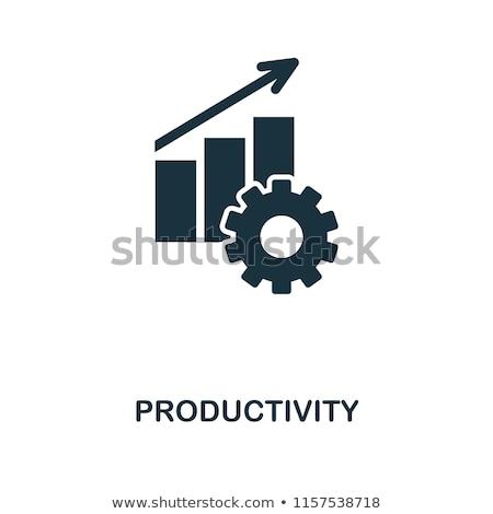 Gyártás termény hozam gazdálkodás mezőgazdaság étel Stock fotó © Lightsource