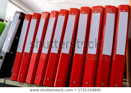 Folder with the label Research Stock photo © Zerbor