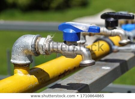 Cerrado válvula 3D generado Foto construcción Foto stock © flipfine