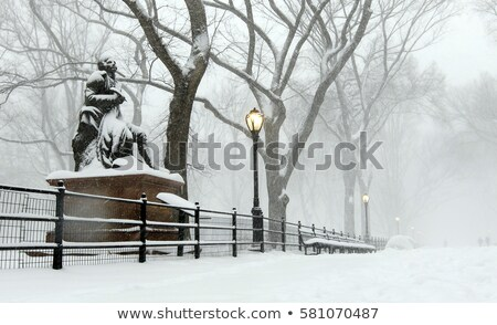 Central Park Robert Burns Manhattan New York Stock photo © lunamarina