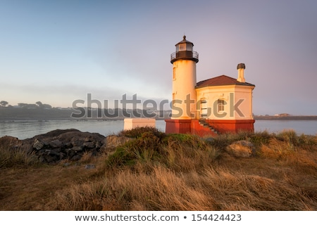 bullards beach coquille river lighthouse bandon oregon pacific c stock photo © cboswell