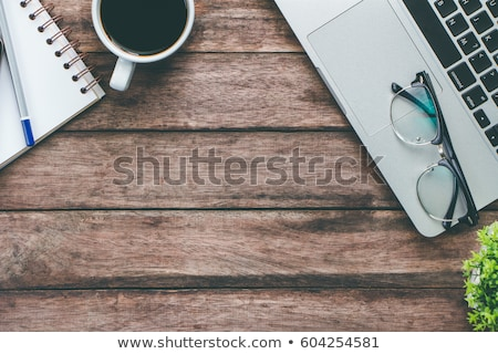 Tablet pc with copy space on a desk Stock photo © Zerbor