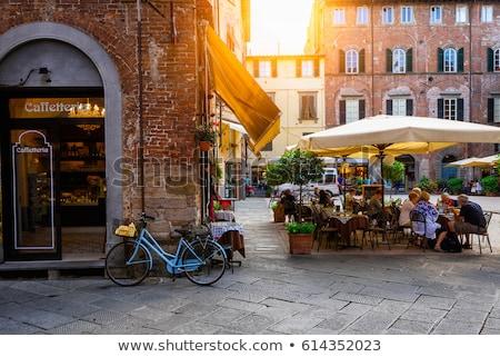 café · rua · espaço · compras · varejo · cidade - foto stock © zhekos