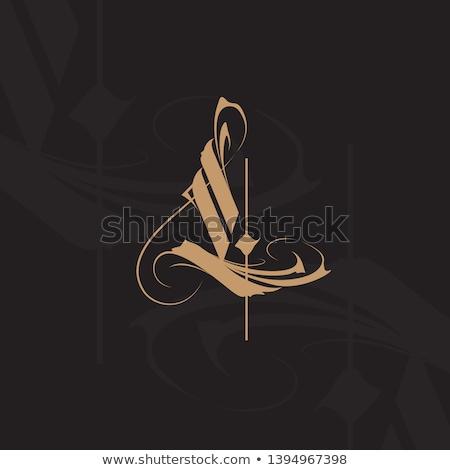 színes · l · betű · logo · ikon · vektor · felirat - stock fotó © blaskorizov