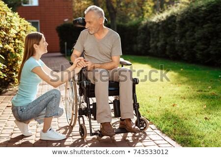 sorridente · médico · sessão · secretária · médico · arquivos - foto stock © wavebreak_media