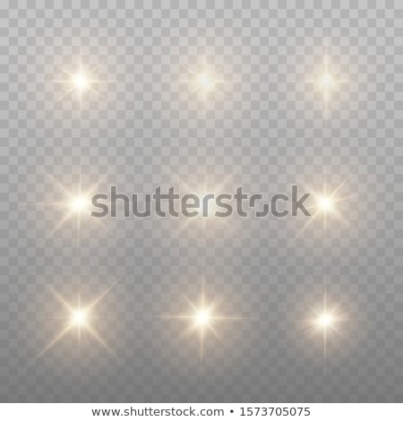Sparking diamonds isolated on white bacgkround Stock photo © Arsgera