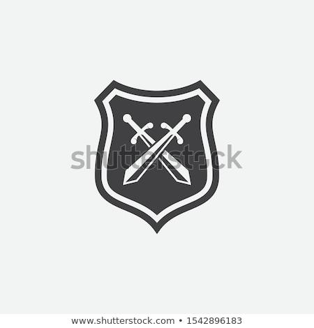 Crossed Swords and Shield Stock photo © Bigalbaloo