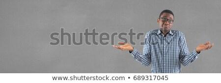 összetett · kép · anonim · üzletember · fehér · öltöny - stock fotó © wavebreak_media
