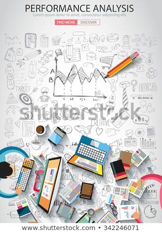 бизнеса · болван · дизайна · стиль · онлайн - Сток-фото © davidarts