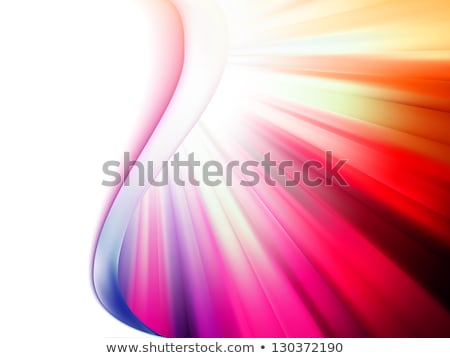 Glow orange red mosaic background. EPS 8 Stock photo © beholdereye