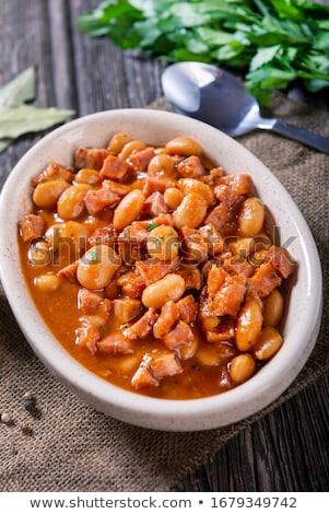 White bean stew Stock photo © Digifoodstock