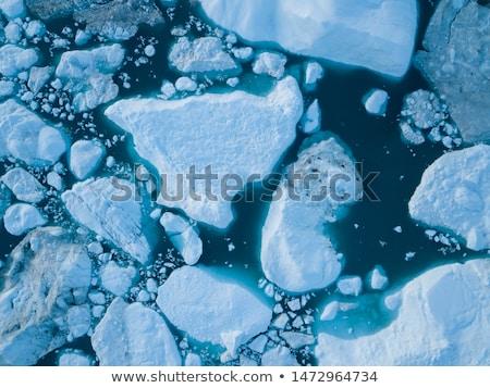 On top of the glacier Stock photo © Hofmeester