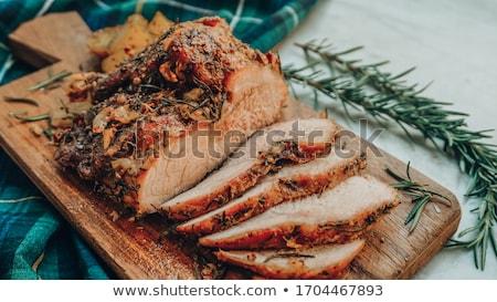 porc · dîner · viande · steak · repas - photo stock © digifoodstock