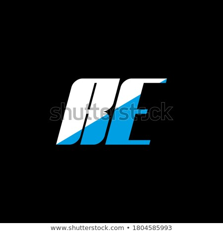 creative RE letter logo set Stock photo © krustovin