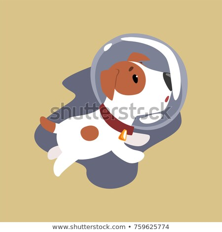 An energetic astronaut Stock photo © bluering