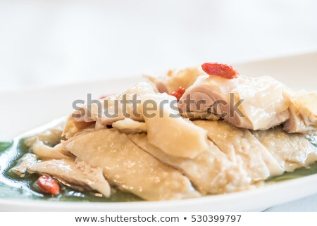 liquor hainanese chicken Stock photo © vichie81